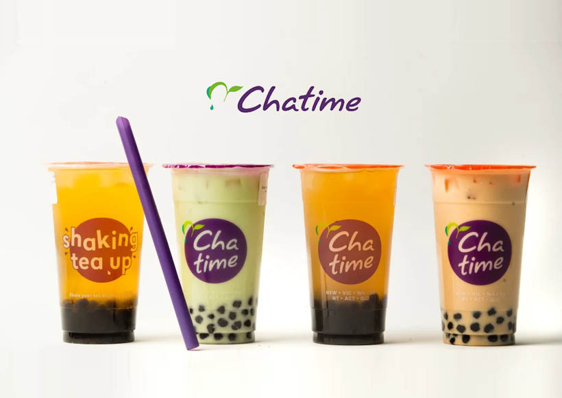 chatime ice teas